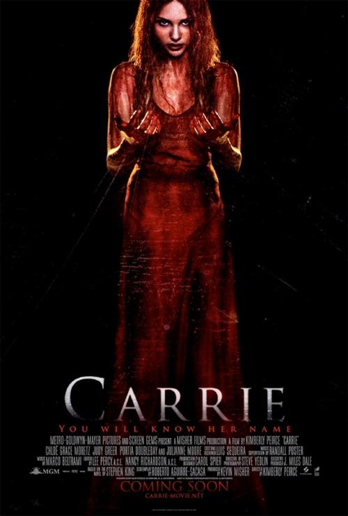 Un nuevo cartel de Carrie de Kimberly Pierce