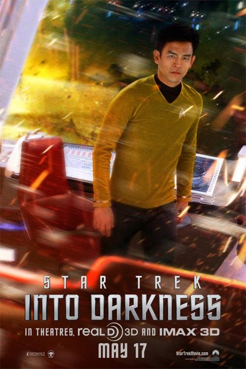 Un cartel más de Star Trek: en la oscuridad con Sulu como prota