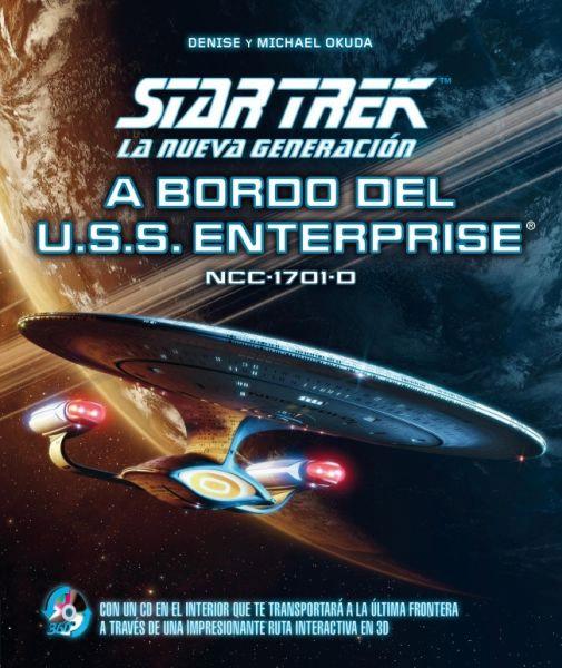 """Portada de """"Star Trek: La Nueva Generación - A bordo del USS Enterprise"""""""