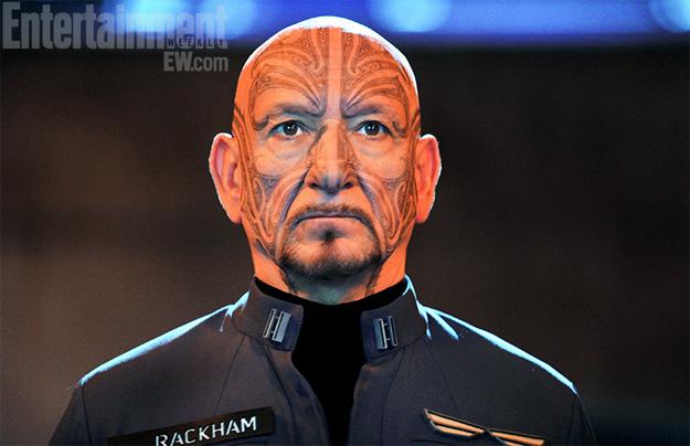 Ben Kingsley como Mazer Rackham en Ender's Game