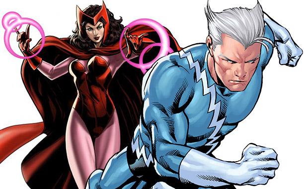 Salvo que el guión cambie la idea es que la Bruja Escarlata y Mercurio estén en The Avengers 2