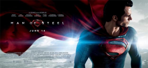 Warner Bros. nos presenta un nuevo banner de El Hombre de Acero... y este es también fantástico