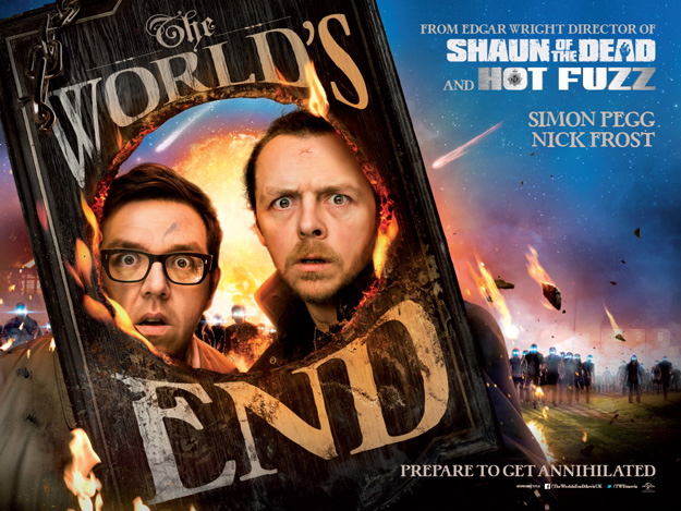 Uno de los carteles de The World's End… repleto de detalles curiosos