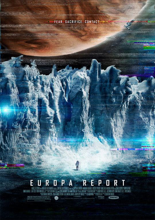El primer cartel de Europa Report