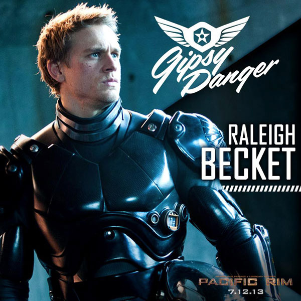 Este es Raleigh Becket en Pacific Rim