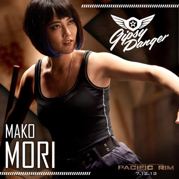 Esta es Mako Mori en Pacific Rim