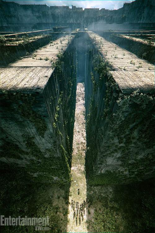 Concept Art del film de ciencia ficción YA Maze Runner