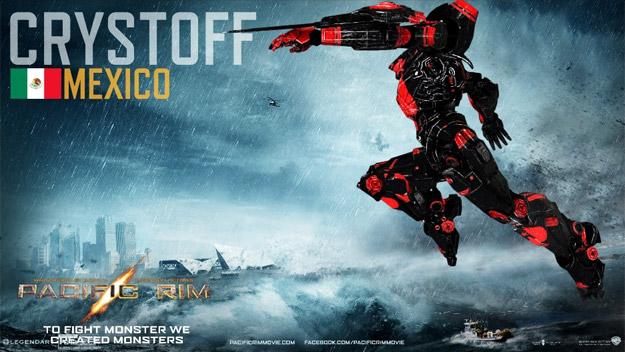 """Jaeger (robot) mexicano en """"Titanes del Pacifico"""""""