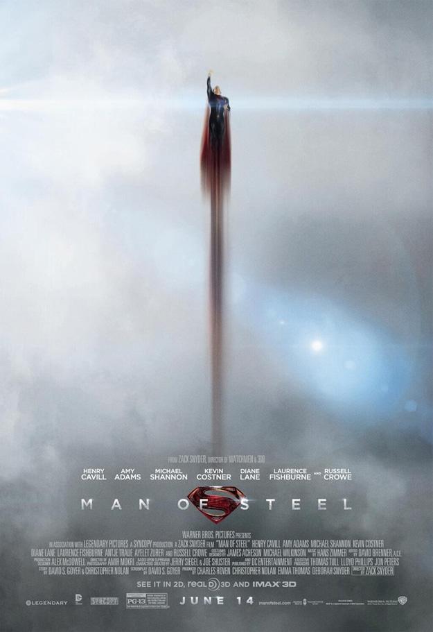 Gran cartel de El Hombre de Acero