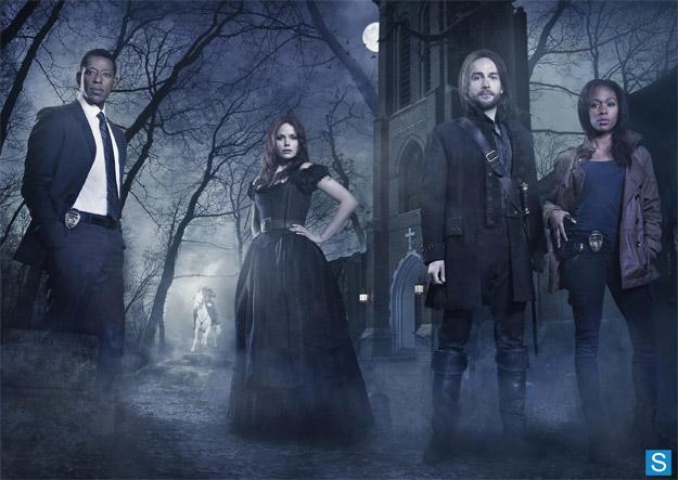 """Imagen promocional con el reparto de """"Sleepy Hollow"""""""