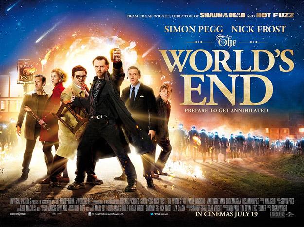 Quad cartel de The World's End