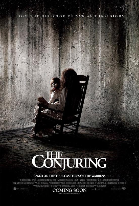 Uno de los carteles de Expediente Warren: the conjuring