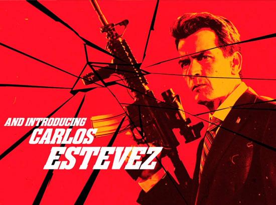 Saludemos a Carlos Estevez!