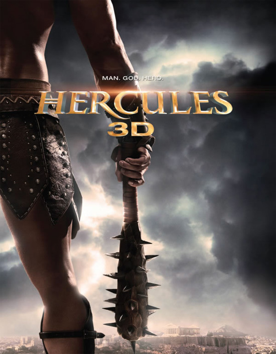 El primer cartel de Hercules 3D de Renny Harlin... apunta a violenta