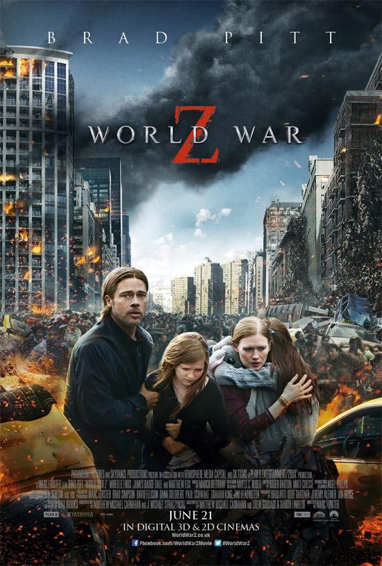El nuevo cartel para la pérfida Albión de Guerra Mundial Z