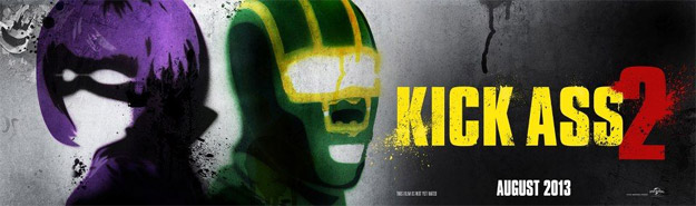 Un graffitero banner de Kick-Ass 2: Ball to the Wall