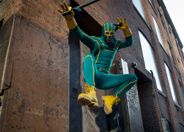 La hora de las noticias en modo Kick-Ass 2: Balls to the Wall