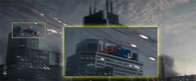 La torre LexCorp forma parte de este mundo de Superman