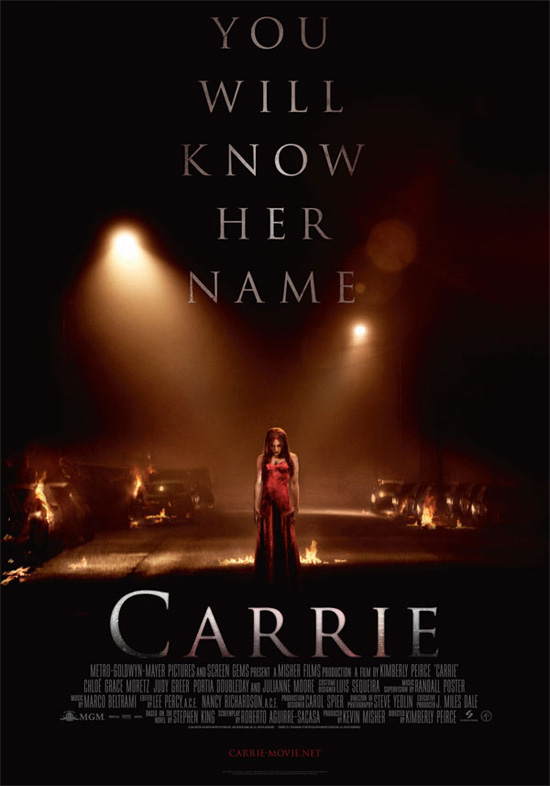 Un nuevo cartel internacional de Carrie