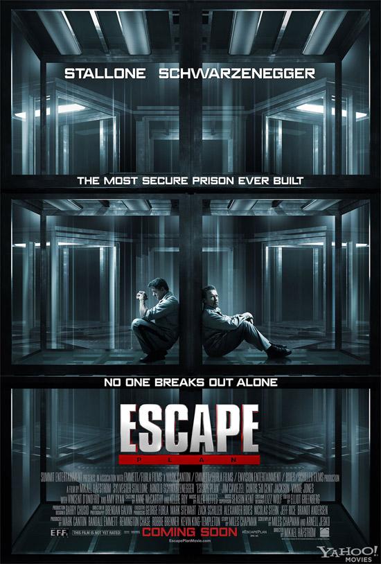 Un cartel de Escape Plan de Mikael Håfström