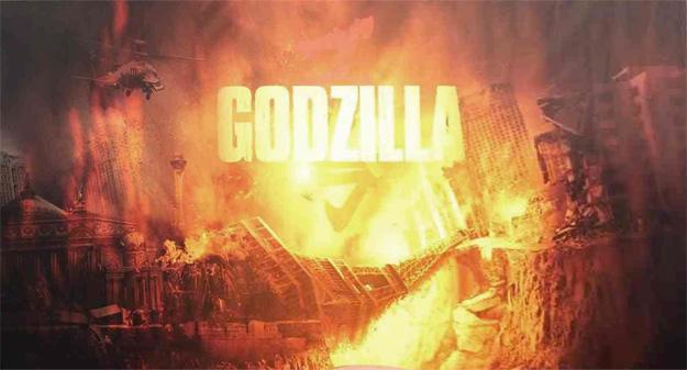Arde París en el nuevo cartel de Godzilla
