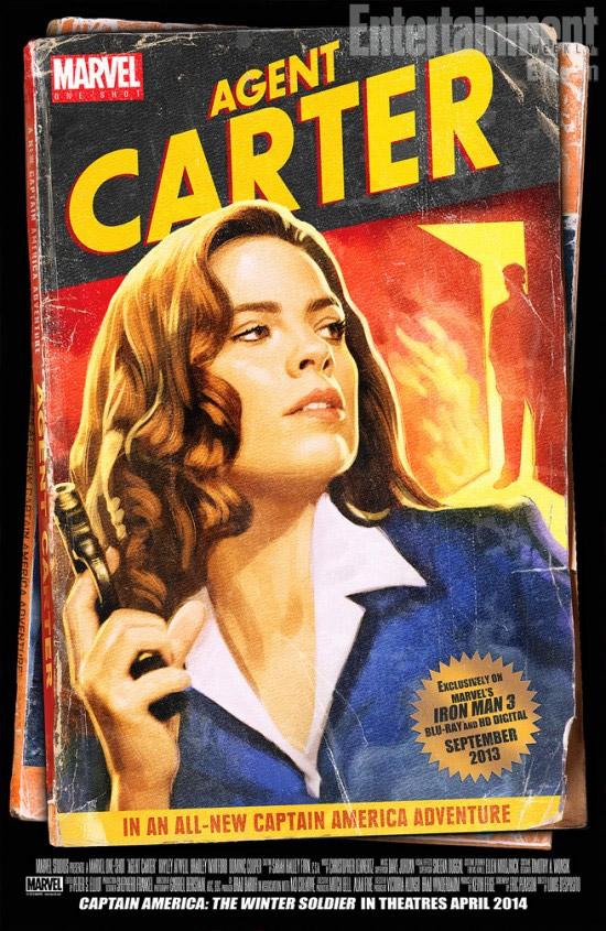 """El chulo cartel de """"Agent Carter"""""""