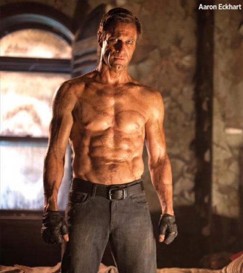 Nunca el monstruo de Frankenstein fue tan poco monstruoso... I, Aaron Eckhart