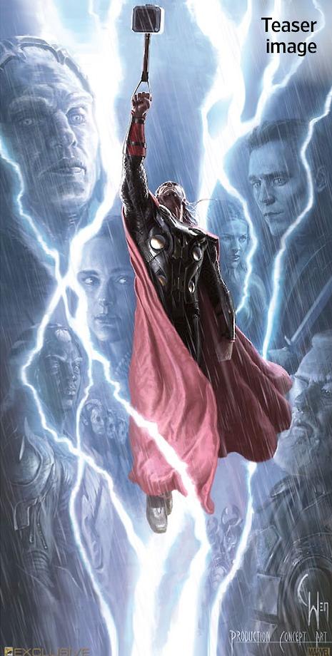 Nuevo concept art de Thor: el mundo oscuro obra de Charlie Wen