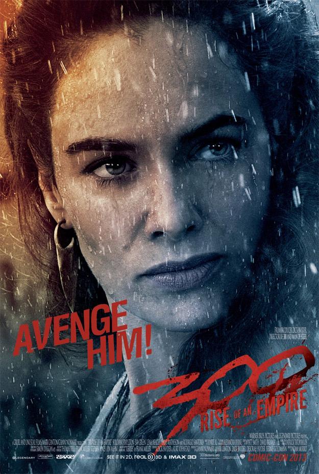La Reina Gorgo (Lena Headey) clama vengaza!