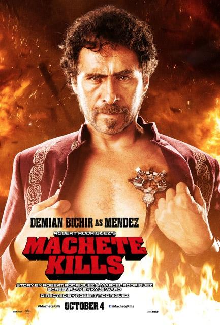 Demián Bichir es Méndez, the Madman