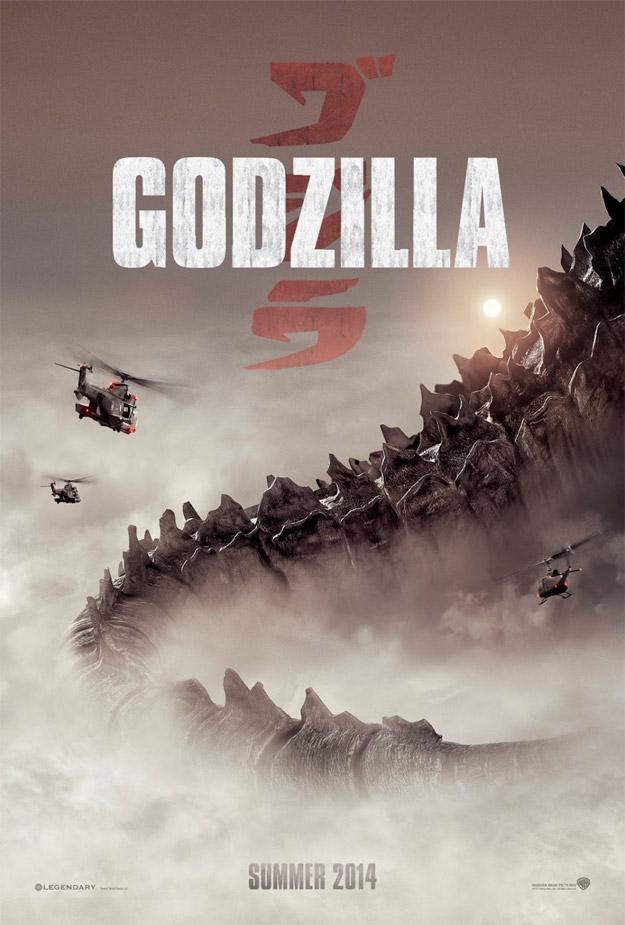 El nuevo cartel de estudio de Godzilla... genial