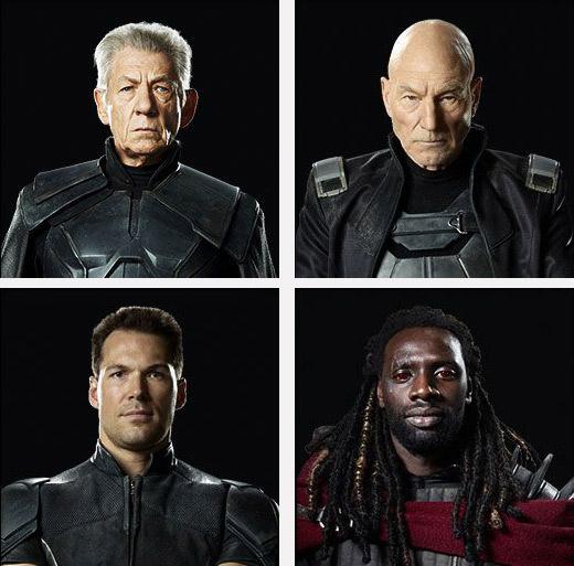 Cuatro mutantes que deben ser eliminados: Profesor X, Magneto, Coloso y Bishop