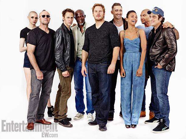 Todos los miembros de Guardians of the Galaxy