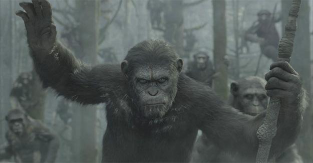 La primera imagen oficial de Dawn of the Planet of the Apes... Caesar con pinturas de guerra