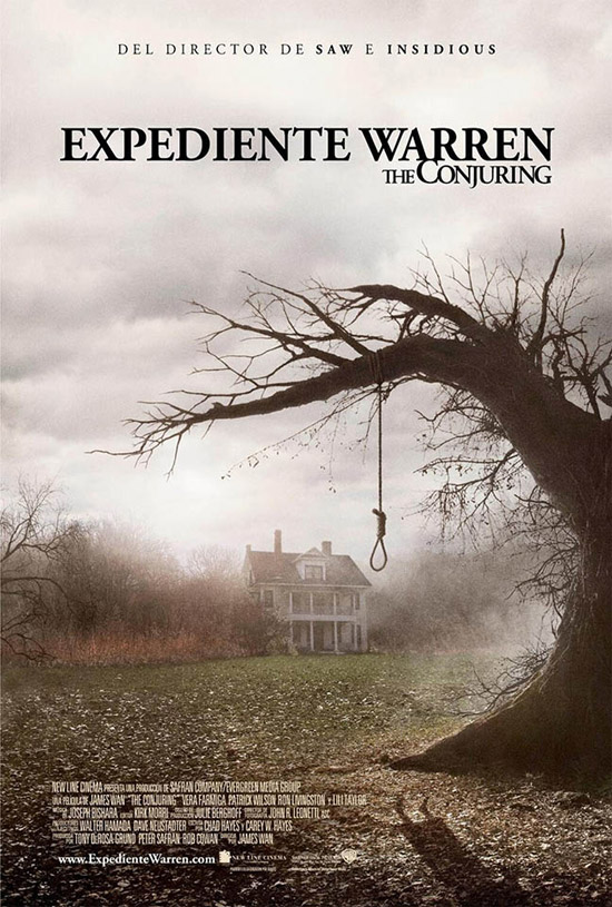 Cartel español de Expediente Warren: the conjuring