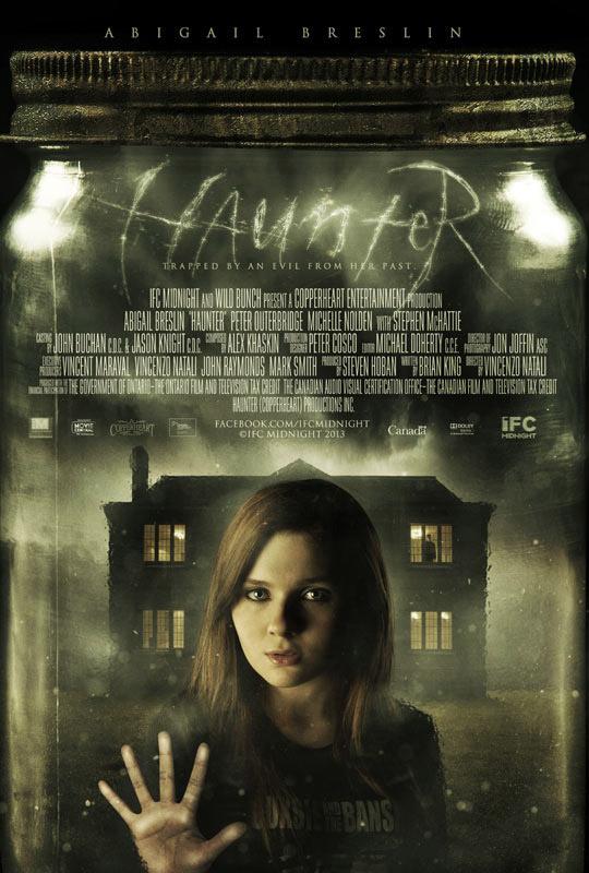 El primer cartel de Haunter, terror de la mano de Vincenzo Natali