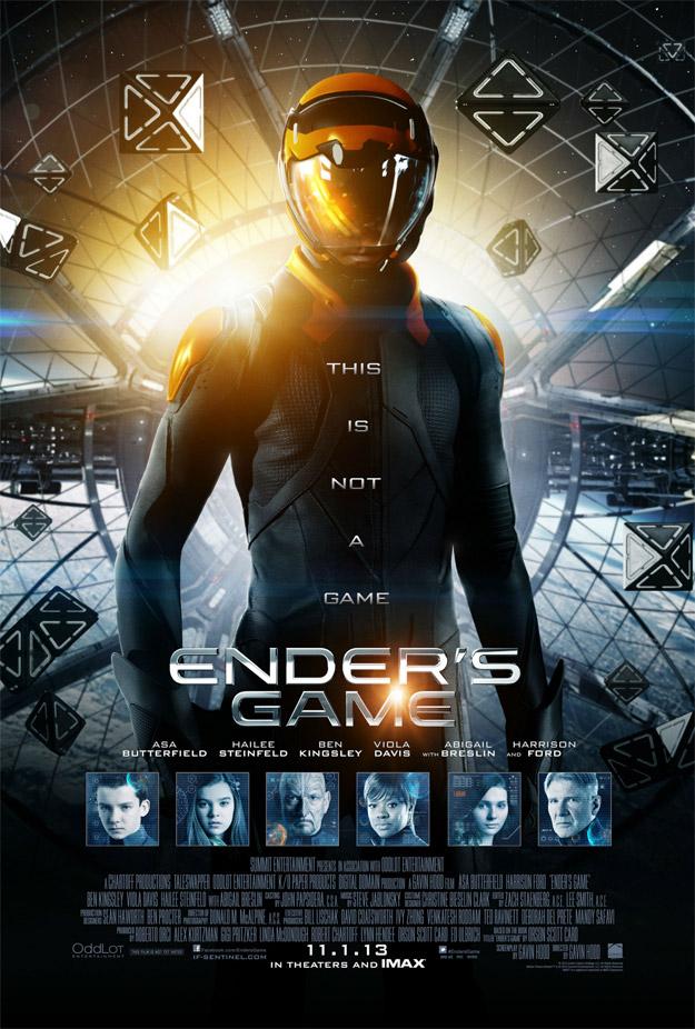 Cartel final de El juego de Ender