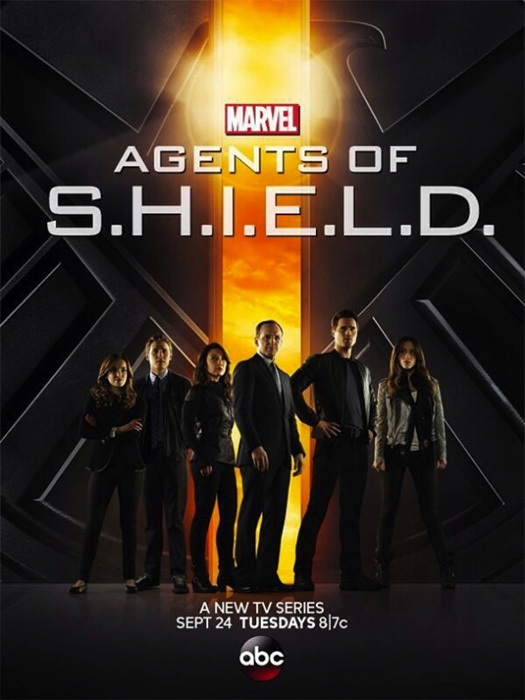 """El cartel de """"Agents of S.H.I.E.L.D."""""""