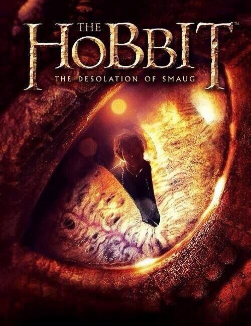 Portada de un libro relacionado con el estreno de El Hobbit: La Desolación de Smaug