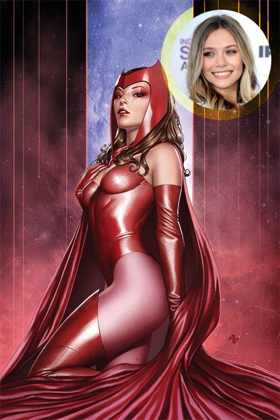 Elizabeth Olsen será la Bruja Escarlata si nada se tuerce tampoco