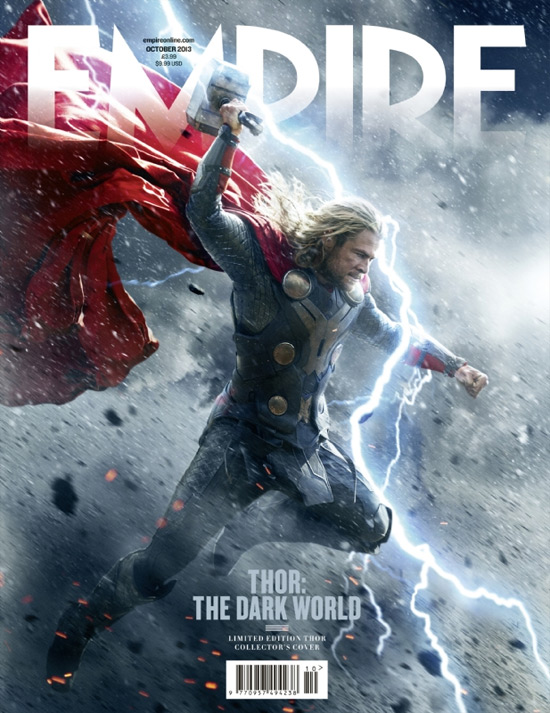Martillo en mano, así se las gasta Thor en esta visualmente impactante portada de Empire