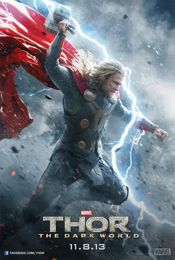 Cartel de Thor para Thor: el mundo oscuro