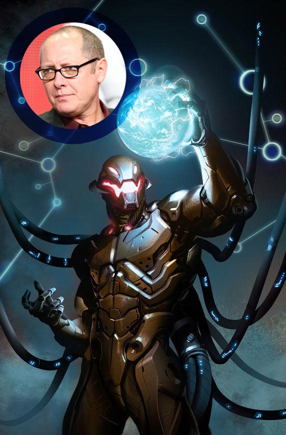 Ya tenemos Ultron y tiene la cara de James Spader