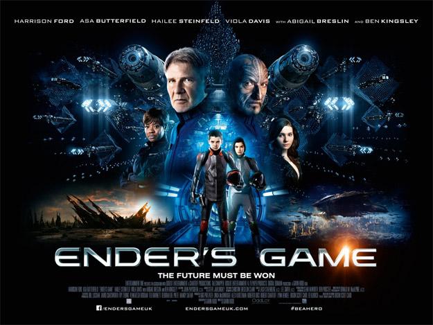 Un nuevo cartel de El juego de Ender para el público británico