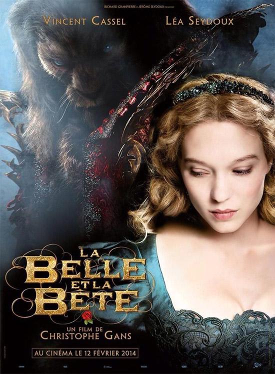 El cartel de La Belle et la Bete de Christophe Gans