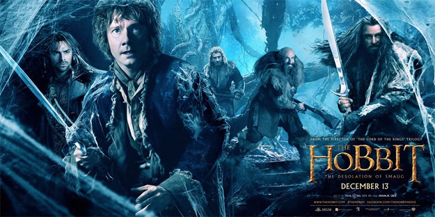 El nuevo cartel / banner de El Hobbit: La Desolación de Smaug