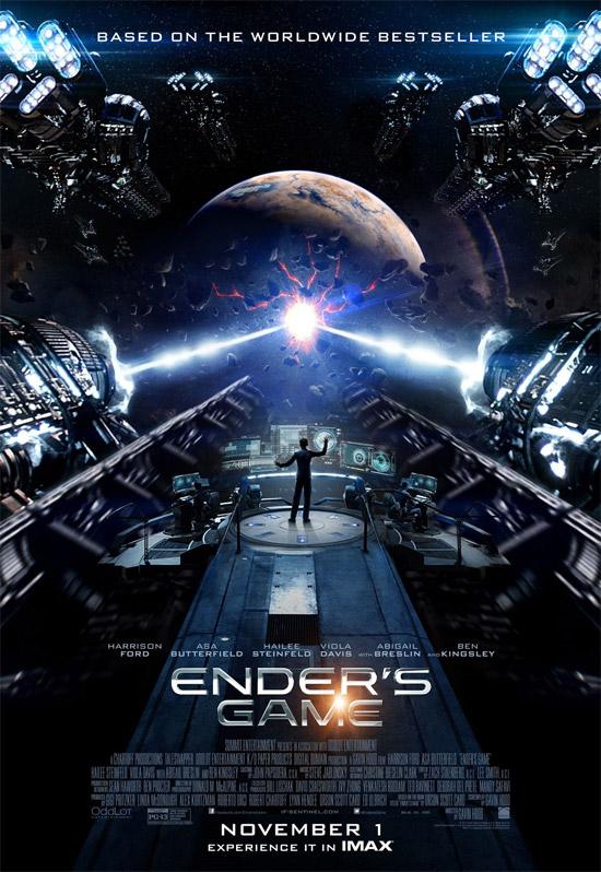 El cartel final de El juego de Ender