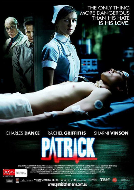 El nuevo cartel del remake de Patrick, a la que han puesto de verano