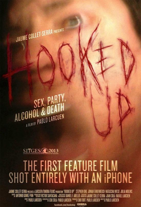 Primer póster de Hooked Up de Pablo Larcuen