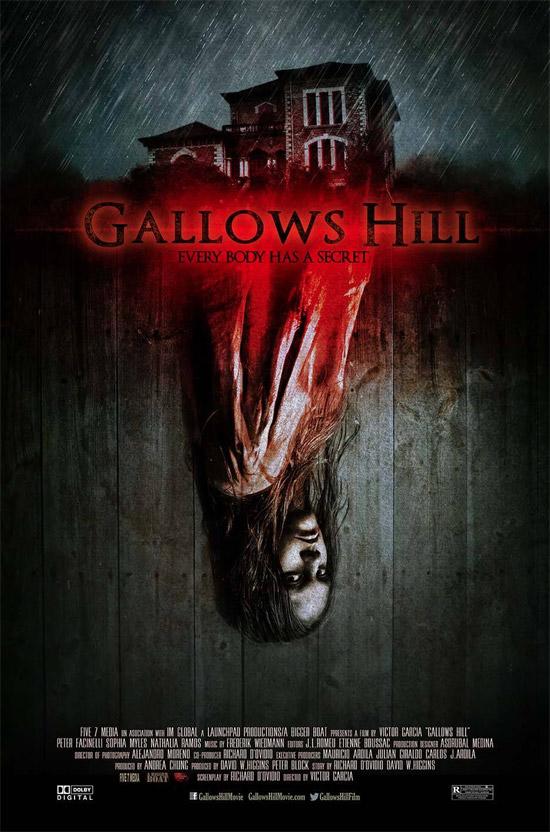 El primer cartel de Gallow Hills que se podrá ver en Sitges 2013